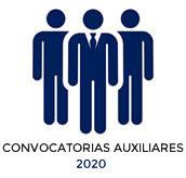 CONVOCATORIAS AUXILIARES 2020