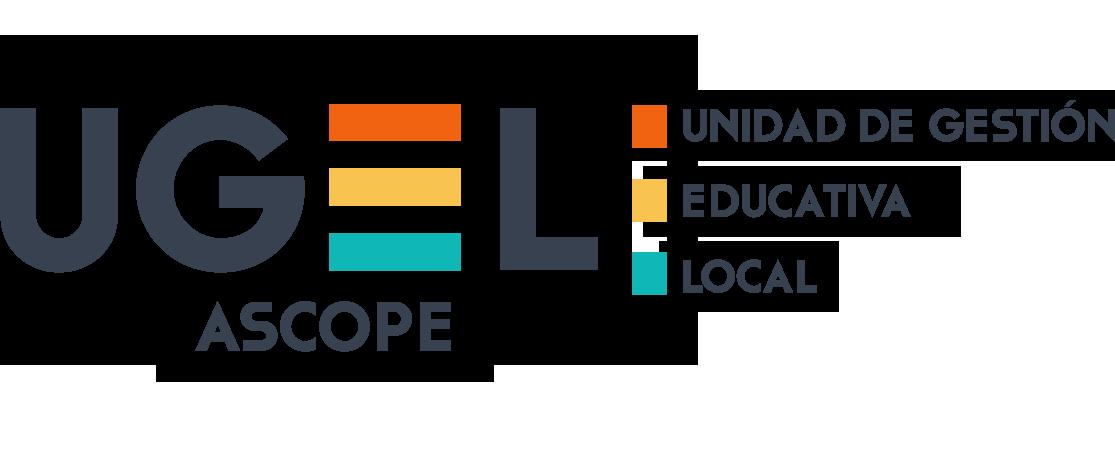 Logo UGEL ASCOPE